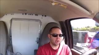 VanLife  Expediting in a cargo van