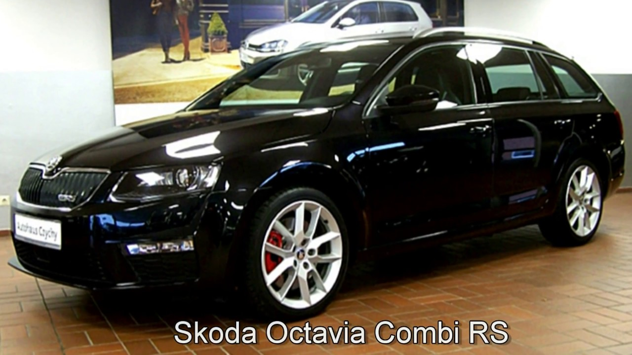 skoda octavia combi 2 0 tsi rs f0049003 schwarz magic perleffekt 2014 autohaus czychy youtube. Black Bedroom Furniture Sets. Home Design Ideas