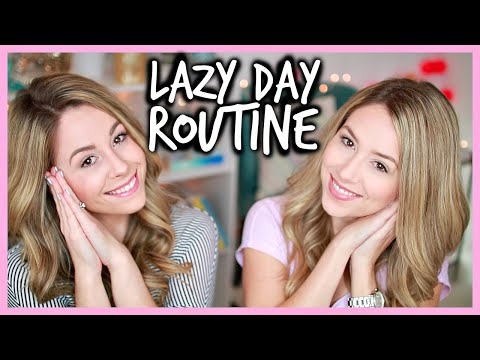 Lazy Day Routine - Get Ready With Me