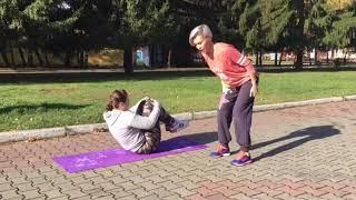 Тренировка для людей с избыточным весом