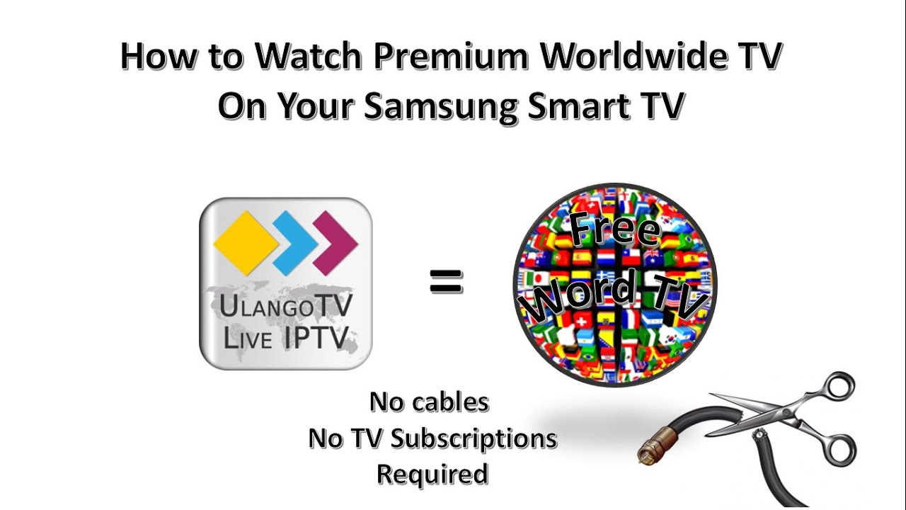 How to Watch for Free Premium Global TV on Your Samsung Smart TV