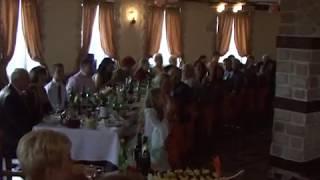 Прикольные съёмки свадьбы -