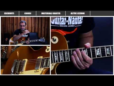 SWEET CHILD O'MINE – 1° E 2° ASSOLO – GUNS N'ROSES – SLASH – LEZIONE CHITARRA – TUTORIAL