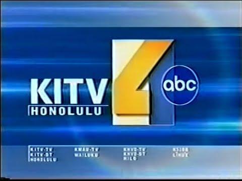 KITV 4 News At 5 Open & Talent Bump (2002-04)