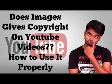 How to Use Images For Youtube Without Copyright Strike