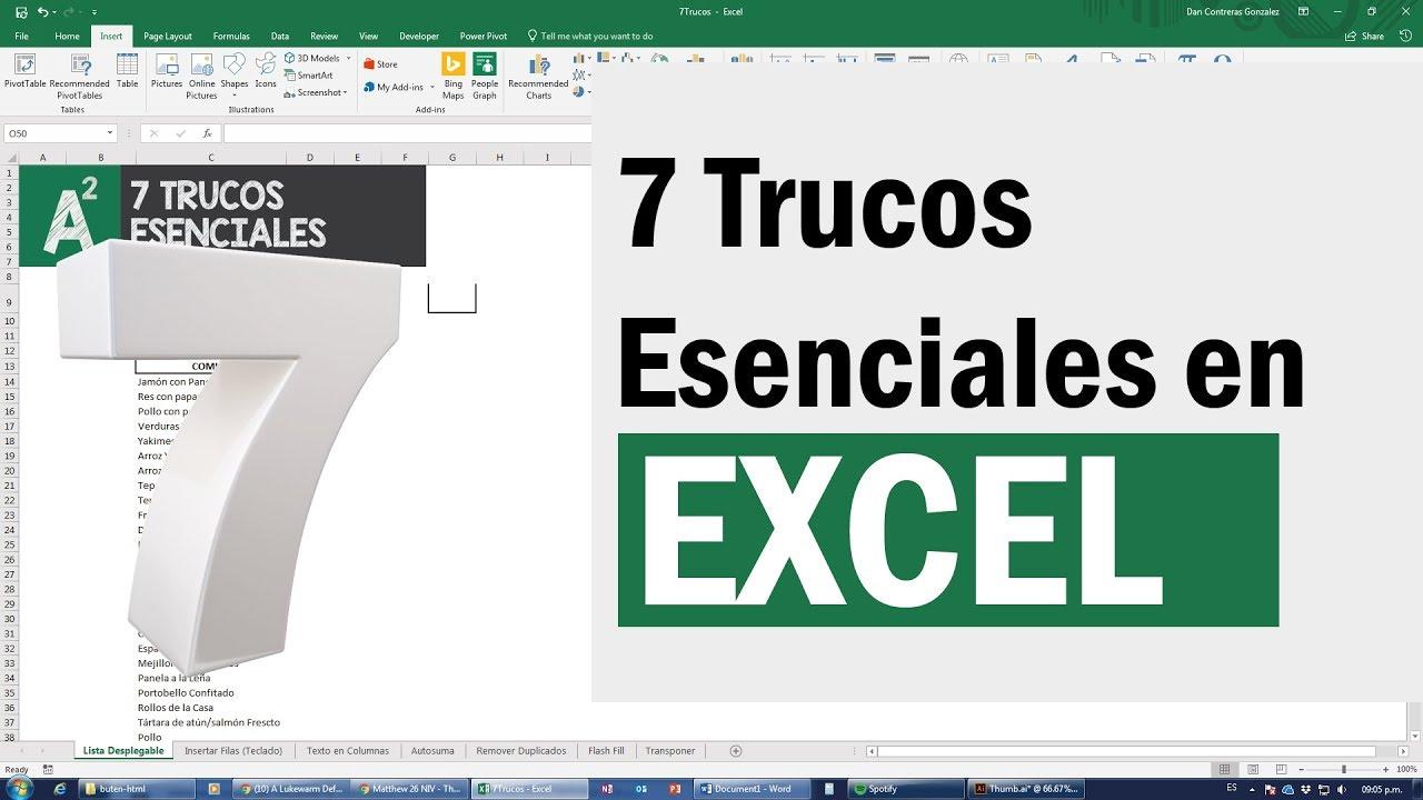 20 trucos avanzados de Excel que necesitas saber para conseguir trabajo