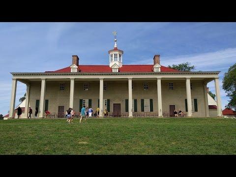 Tour of George Washington's Mount Vernon estate in Mount Vernon, Virginia