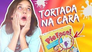 TORTA NA CARA!!!| Brincadeiras da Luli | Unboxing de Brinquedo: Pie Face!