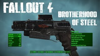 Brotherhood Of Steel Weapon Skins | Fallout 4 Creation Club