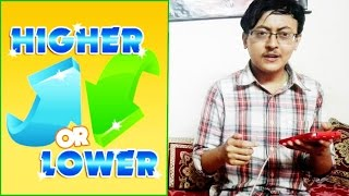Higher or Lower (Game)!!! What is More popular?Can You Beat Me ???