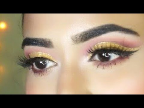 Eye Makeup Tutorial || Glitter Cut Crease Tutorial || Makeup Forever
