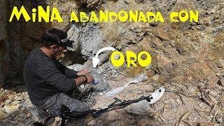 No veas este vídeo sino te gusta el ORO / COMO BUSCAR  y MOLER ROCAS con ORO ⚒️MINA ABANDONADA ORO