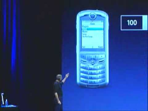 Today in Apple history: Steve Jobs unveils Rokr E1, the