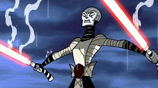 Star Wars Forces of Destiny | Asajj Ventress VS Anakin Skywalker | Clone Wars | Disney [Dash Star]