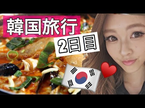 【韓国旅行】2日目🇰🇷韓国食べ尽くし🐖♡