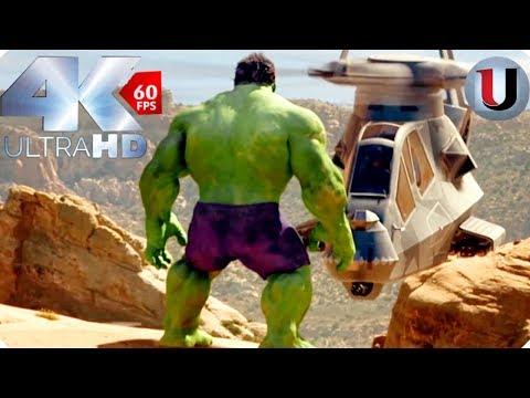 Hulk 2003 - Hulk Vs Helicopters - MOVIE CLIP (4K HD)