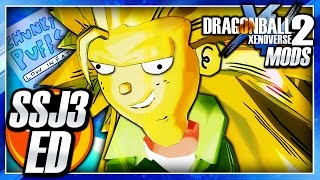 Gambar cover Dragon Ball Xenoverse 2 PC: Super Saiyan 3 Ed DLC (Ed Edd n Eddy) Mod Gameplay