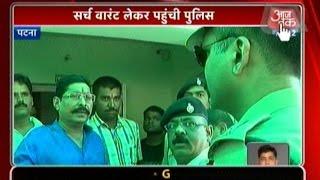 बिहार पुलिस जदयू विधायक अनंत सिंह के आवास पर पहुंची