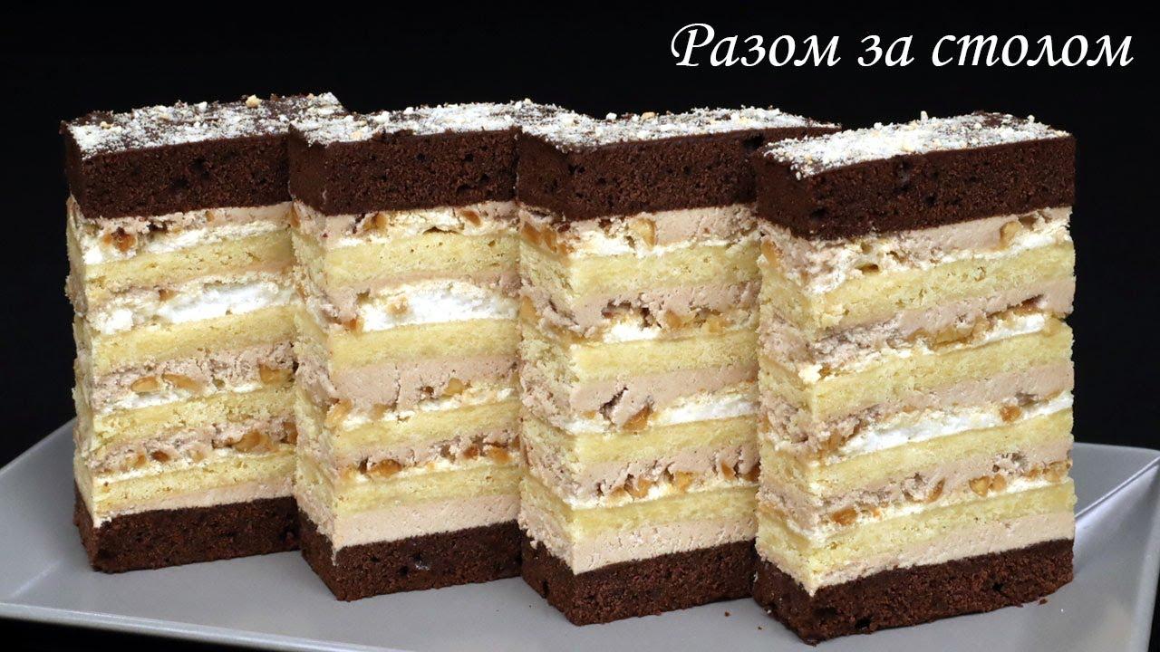 «Хрещатий Яр» - найсмачніша класика, яка завжди вдається. 🍰 / Delicious peanut cake. Recipe.