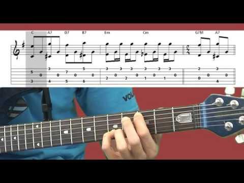 apprendre jouer blackbird la guitare cours de. Black Bedroom Furniture Sets. Home Design Ideas