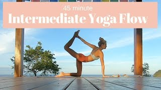 45 min Intermediate Yoga Flow