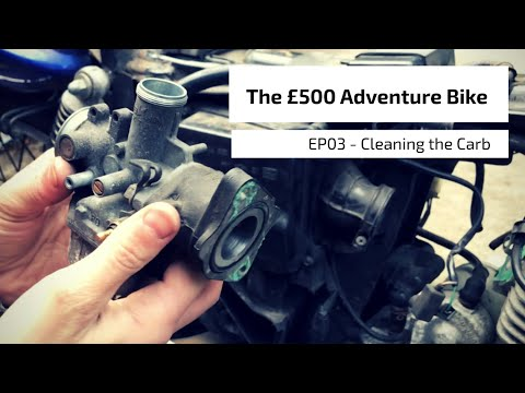 Honda CG125 - Cleaning the Carb - The £500 Adventure Bike EP03