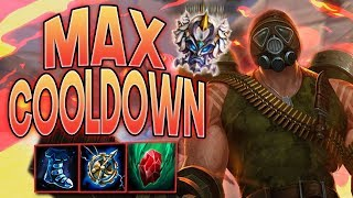 Smite: Max Cooldown Vulcan Build - 50K PLAYER DAMAGE!?