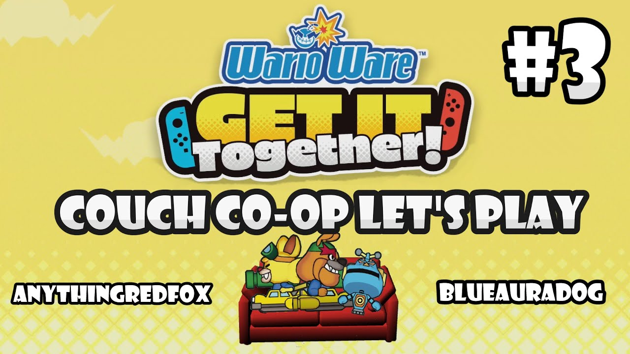 [Let's Play] [Couch Co-Op] WarioWare: Get It Together! PT 3: Dribble & Spitz, Mike [Nintend