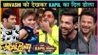 Kapil Sharma NAUGHTY With Urvashi Rautela, MASTI With Anil, John, Arshad   The Kapil Sharma Show