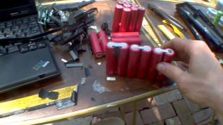 DIY: lithium ion 18650 4.2v 10ah Battery Pack