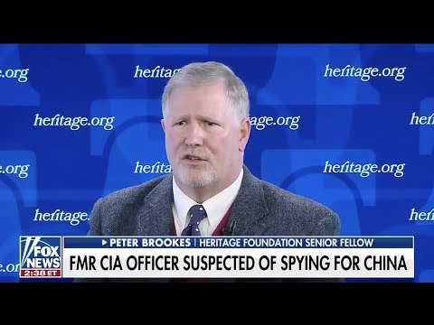 Peter Brookes Talks CIA Espionage Case With Fox News