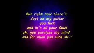 you suck lyrics - the murmurs