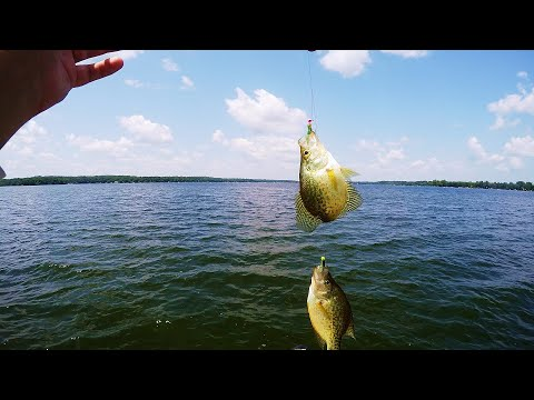 My FAVORITE Crappie Rig Setup (How To Tie Double Jig Crappie Rig)