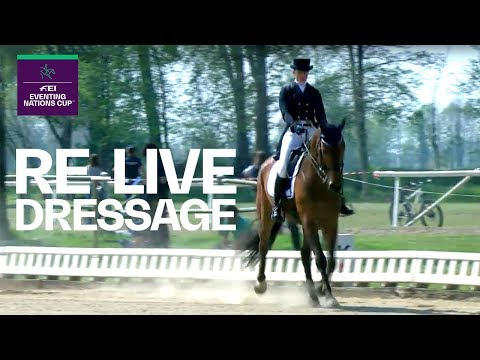 RE-LIVE | Dressage Part 1 | Vairano (ITA) | FEI Eventing Nations Cup™