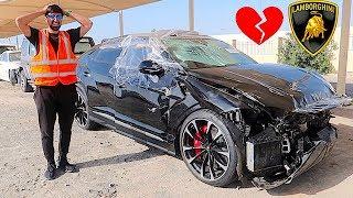 Crashed $300,000 Lamborghini Urus In Dubai !!!