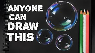 ANYONE Can Draw This: Bubbles