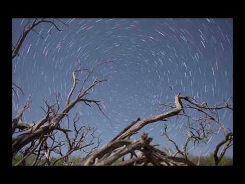 Timelapse of Starry Night in Mexico