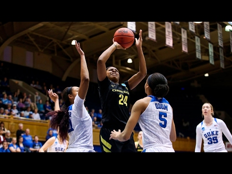 Highlights: Oregon women's basketball ousts Duke, advances to Sweet 16 for first time in program...