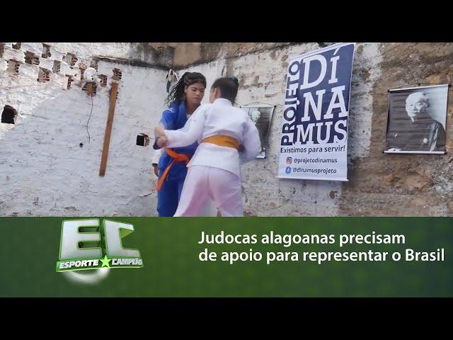 Judocas alagoanas precisam de apoio para representar o Brasil em campeonato Sul-Americano