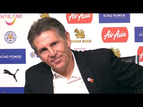 Claude Puel Full Pre-Match Press Conference - Leicester v Ma