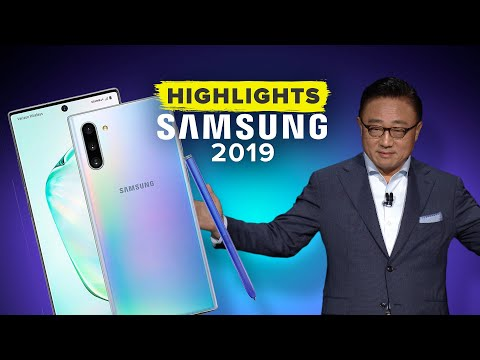 Samsung's Galaxy Unpacked 2019 Event in 11 Minutes
