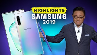 samsungs galaxy unpacked 2019 event in 11 minutes