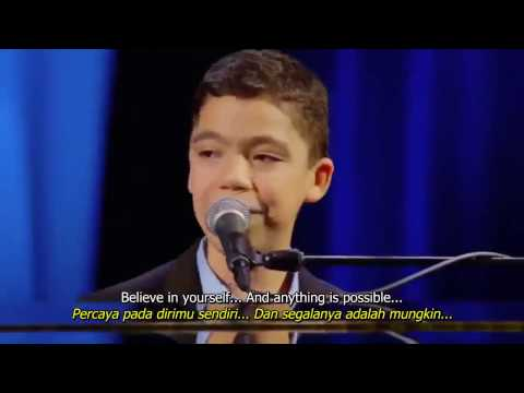 Ethan Bortnick   Anything Is Possible (indo n eng sub)