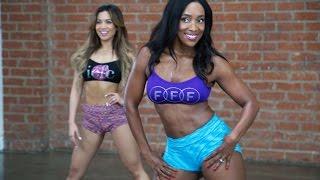 "10 Minutos de ""Booty Shaking Workout""  Parte 2 Espanol | TiffanyRotheWorkouts"