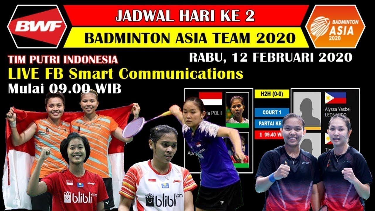 Live Badminton Asia Team Championships 2020 Live Skor