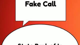 Fake call with SBi