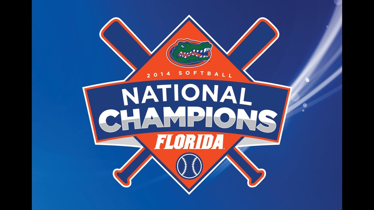 Florida Softball National Championship Celebration - YouTube