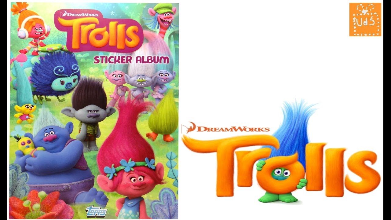Álbum y stickers (cromos) de Los Trolls de Dreamworks #1 - YouTube