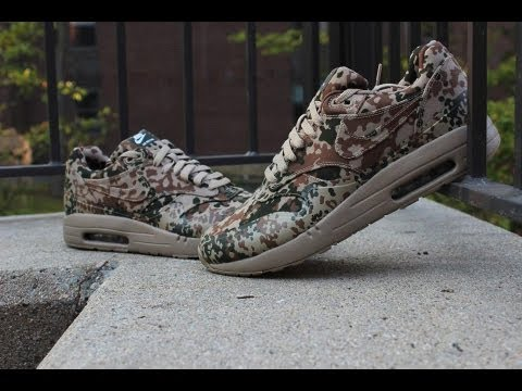 promo code 9703f f33c6 Nike Air Max Country Camo Pack - Air Max 1 Review
