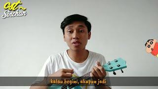 Ost Crayon Sinchan (cover ukulele by ori) + lirik